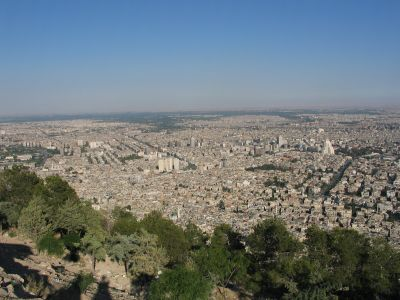 view from Jebel Qassioun 2
