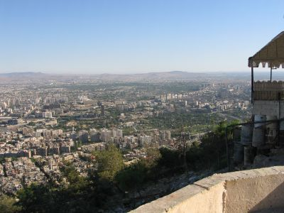 view from Jebel Qassioun 4